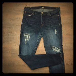 Hudson Krista Super Skinny Distressed Sz. 31